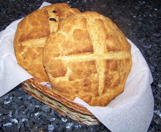 Old-Fashioned Irish Soda Bread Soda-bread1