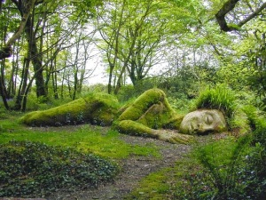 01 sleeping goddess - mother earth - gaia